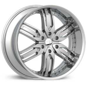 Velocity 125B  Rims Chrome