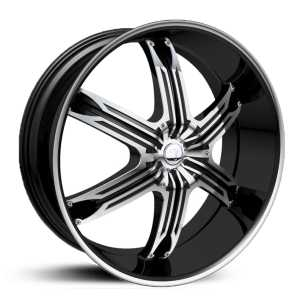 Velocity 936  Rims Black Machined