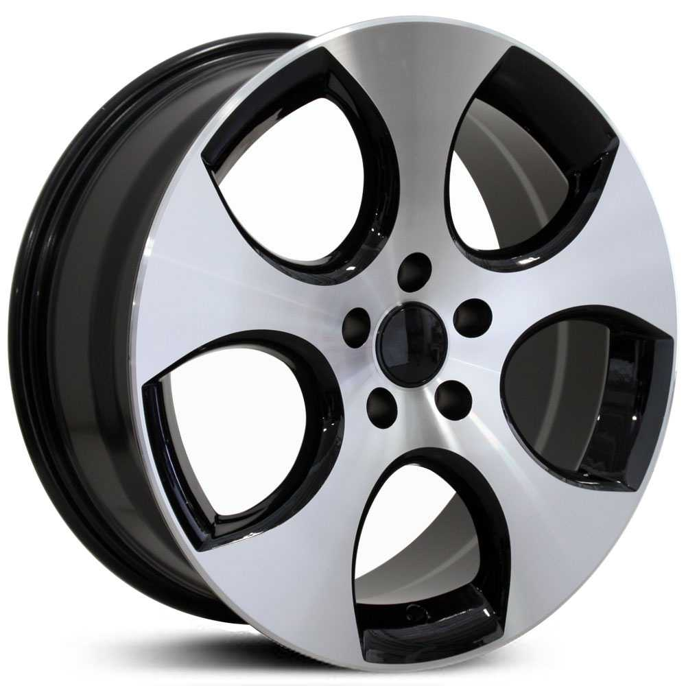 Volkswagen GTI (VW20)  Wheels Black Machined