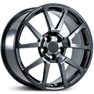 Cadillac CA10 fits CTS-V  Wheels Black Chrome