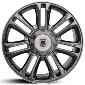 Cadillac Escalade CA83  Wheels Black Chrome