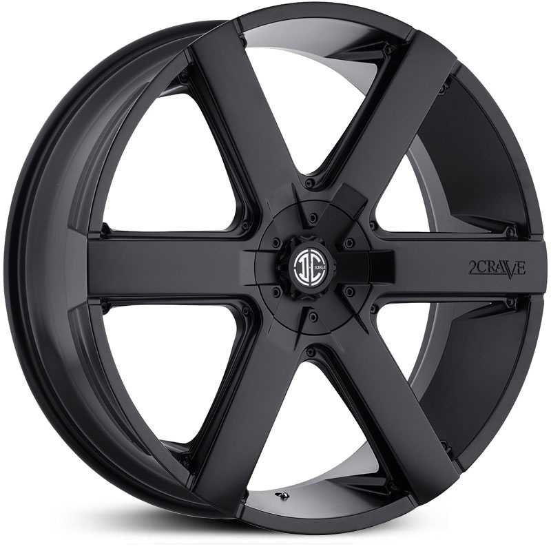 2Crave No 31  Wheels Satin Black