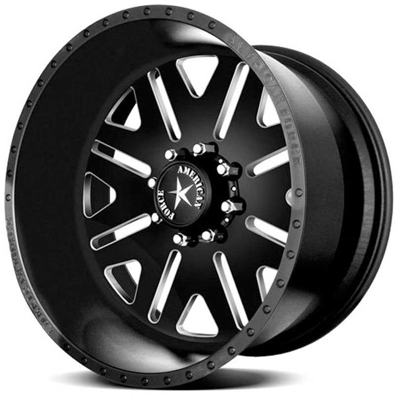 American Force BAUS SS8  Wheels Black Flat-Machined Windows