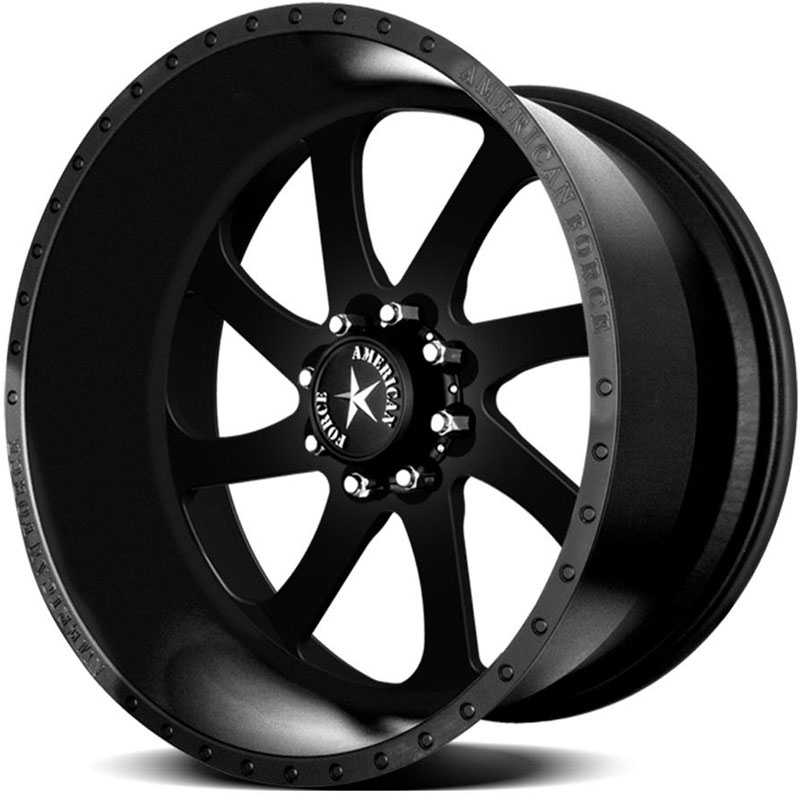 American Force BLADE SS8  Wheels Black Flat-Solid