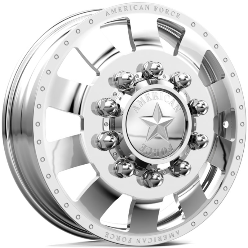 American Force Dually BOLT  Wheels Mirror Finish Polish
