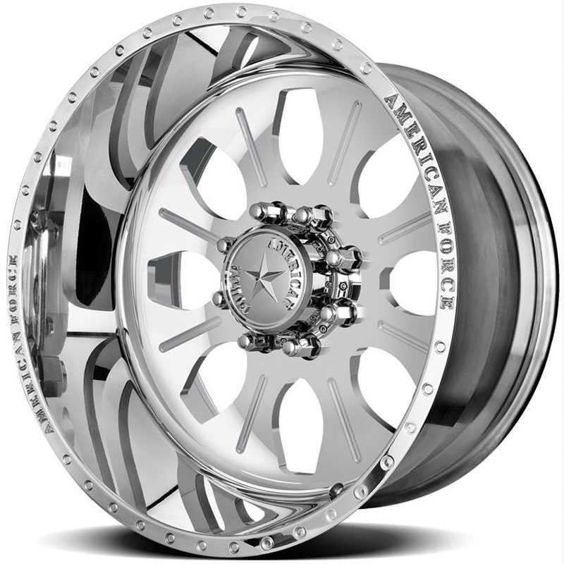 American Force COMBAT SS8  Wheels Mirror Finish Polish