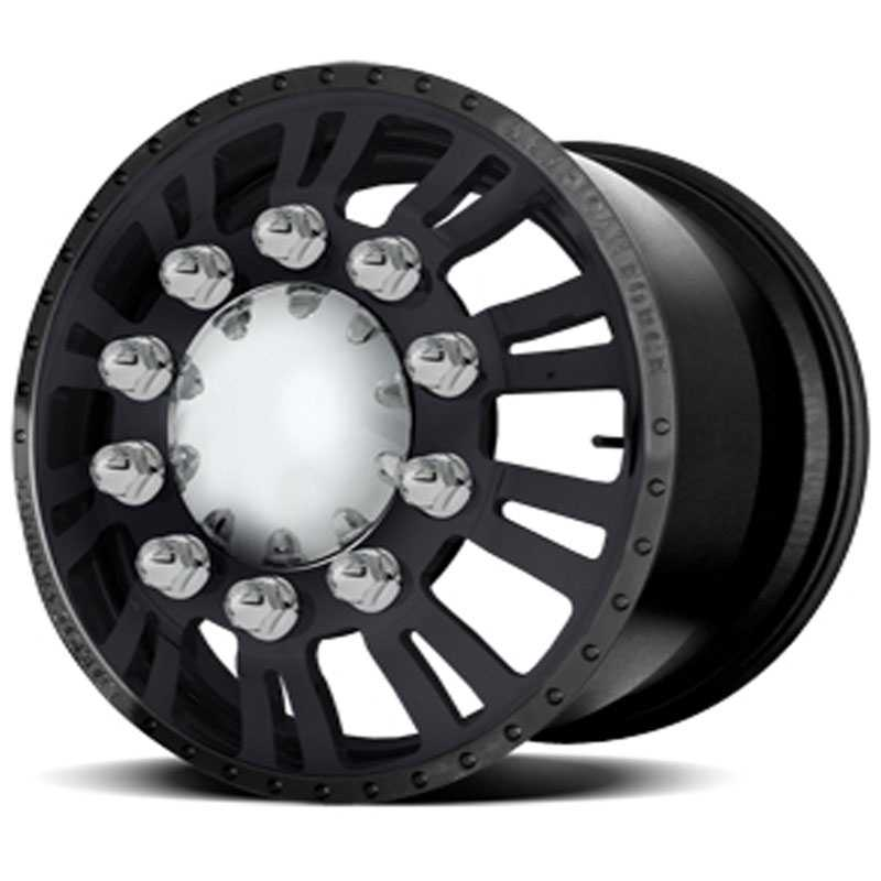 American Force Dually CONSTITUTION  Wheels Black Textured-Solid