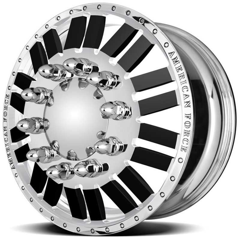 American Force Dually E-CLIPS  Wheels Mirror Finish Polish
