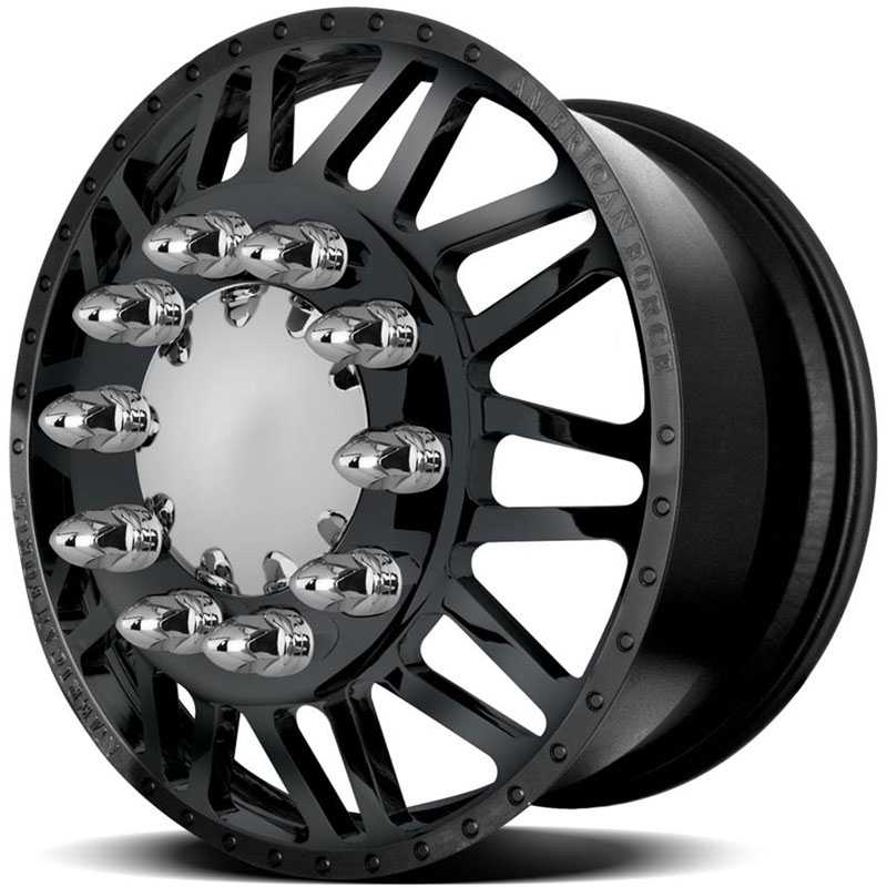 American Force Dually LIBERTY  Wheels Black Textured-Solid