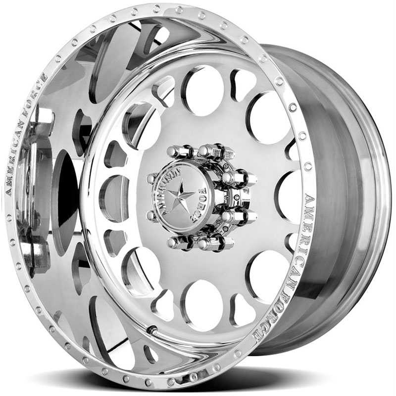 American Force MAGNUM SS8  Wheels Mirror Finish Polish