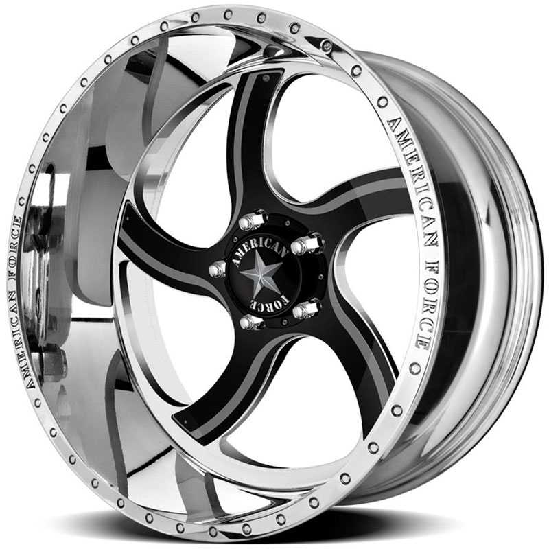 American Force NIGHTMARE FP5  Wheels Mirror Finish Polish