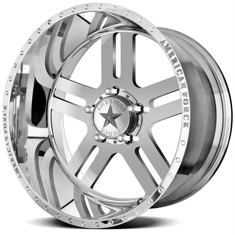 American Force REBEL SS5  Wheels Mirror Finish Polish