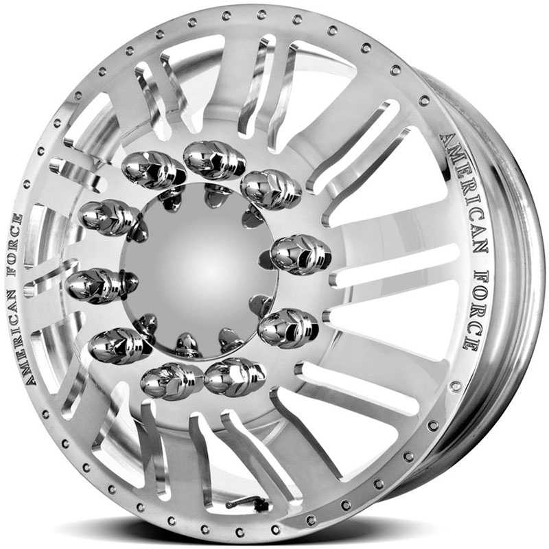 American Force Dually SHIFT  Wheels Mirror Finish Polish