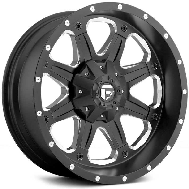Fuel Offroad D534 Boost  Rims Black Milled