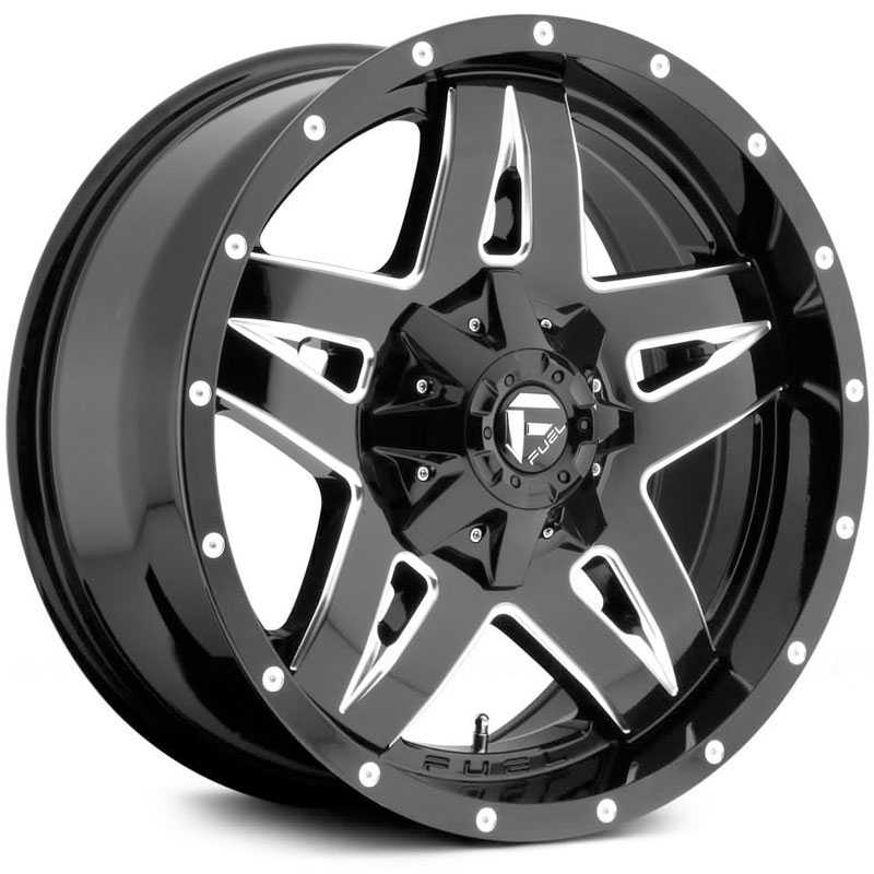 D554 Full Blown Black Milled