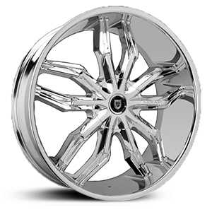 Lexani Arte  Wheels Chrome