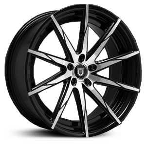 Lexani CSS-15  Rims Gloss Black Machined