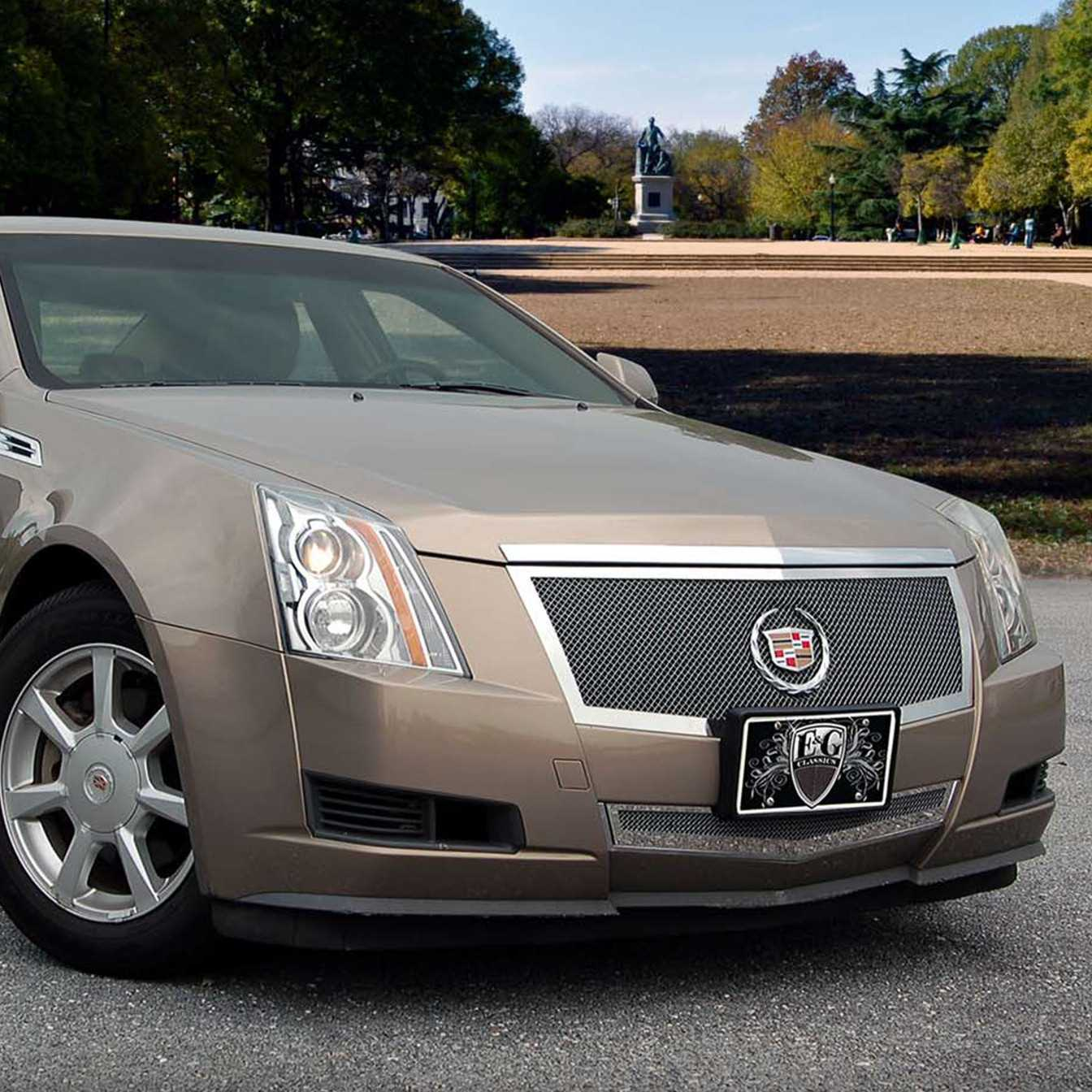 Cadillac Cts 2013 Price: E&G Classics 2012-2013 Cadillac CTS Grille 2Pc Black Ice Fine Mesh Grille