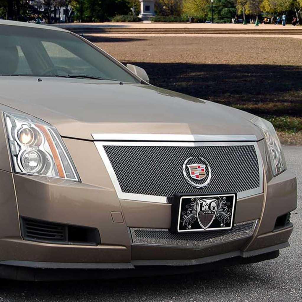 E Amp G Classics 2012 2013 Cadillac Cts Grille 2pc Black Ice
