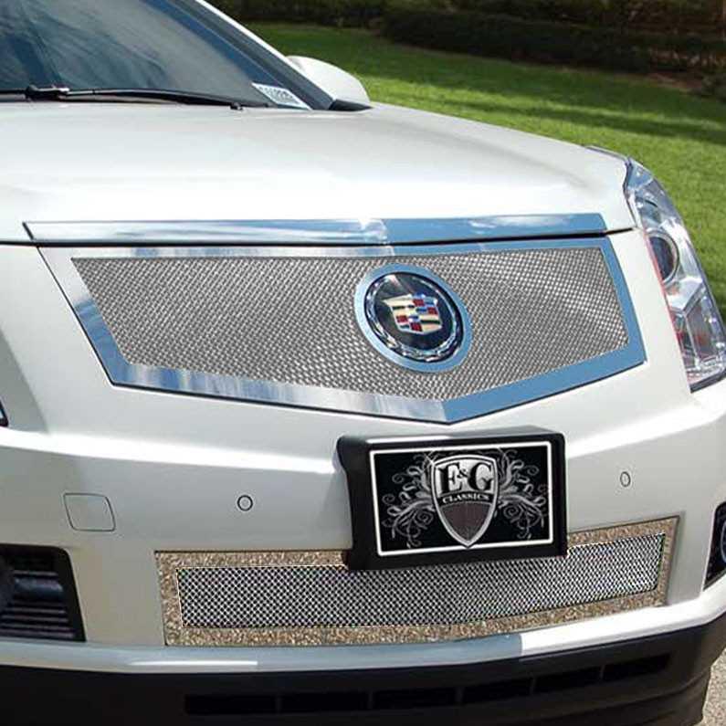 Cadillac 2013 Srx: E&G Classics 2013-2016 Cadillac SRX Grille 2 Pc Fine Mesh
