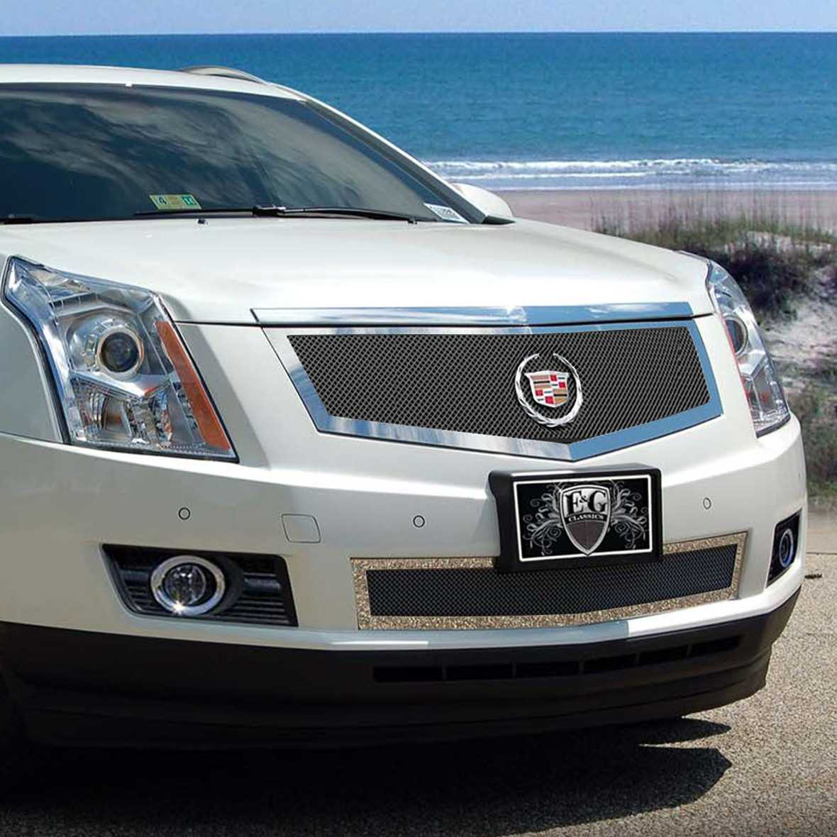 Cadillac Srx: E&G Classics 2010-2012 Cadillac SRX Grille 2 Pc Fine Mesh