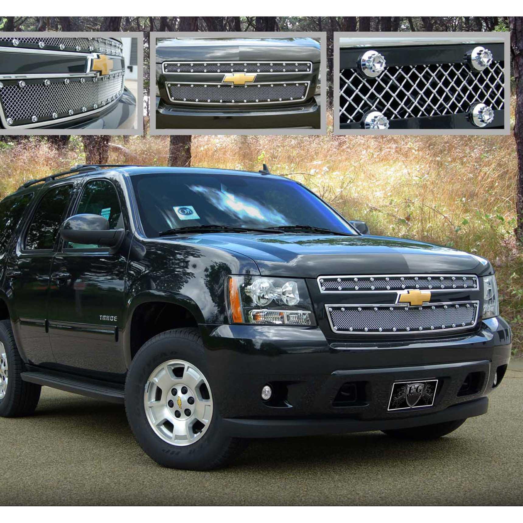 E&G Classics 2007-2014 Chevrolet Tahoe Grille E-Power Fine