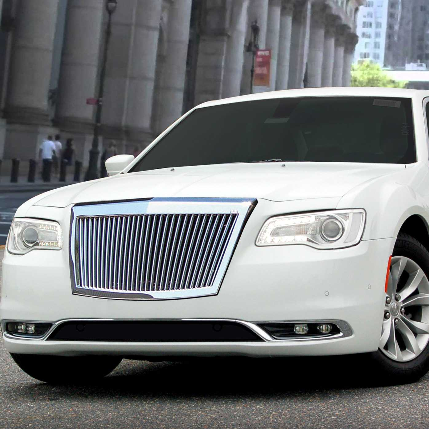 E&G Classics 2015-2016 Chrysler 300 Grille Classic Silver