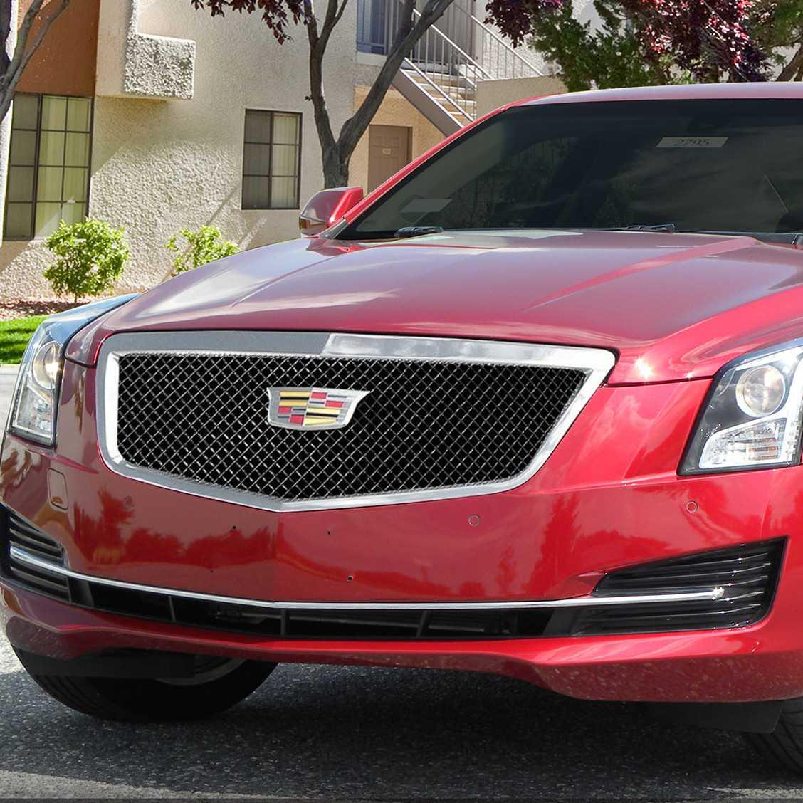 E&G Classics 2015-2016 Cadillac ATS Grille Classic Black