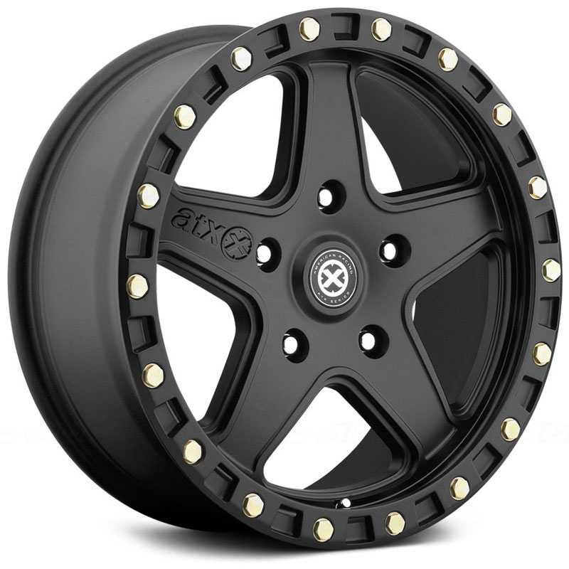 ATX Series AX194 Ravine  Wheels Textured Black Coated