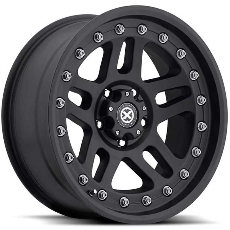 ATX Series AX195 Cornice  Wheels Textured Black Coated