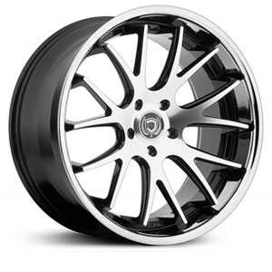 Hubcap Tire And Wheel >> 20x8 5 Asanti Black Abl 3 Machined Face W Ss Lip Rwd