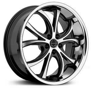 Asanti ABL-8  Wheels Machined Face W/ SS Lip