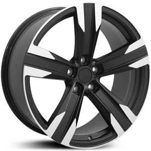 Chevy Camaro CV16 ZL1  Rims Machined Black