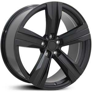 Chevy Camaro CV16 ZL1  Wheels Matte Black