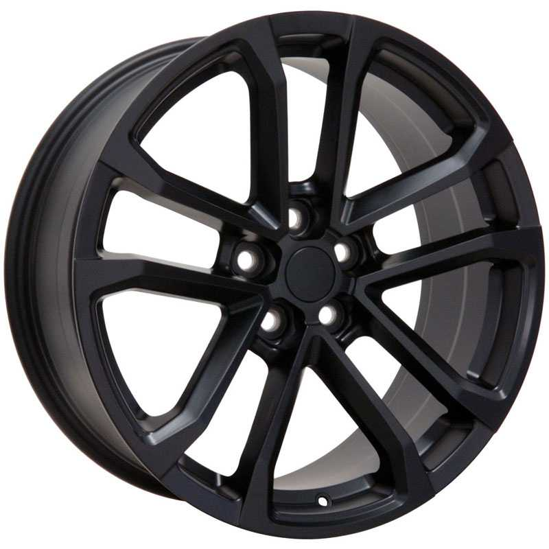 Chevy Camaro ZL1 CV19  Wheels Matte Black