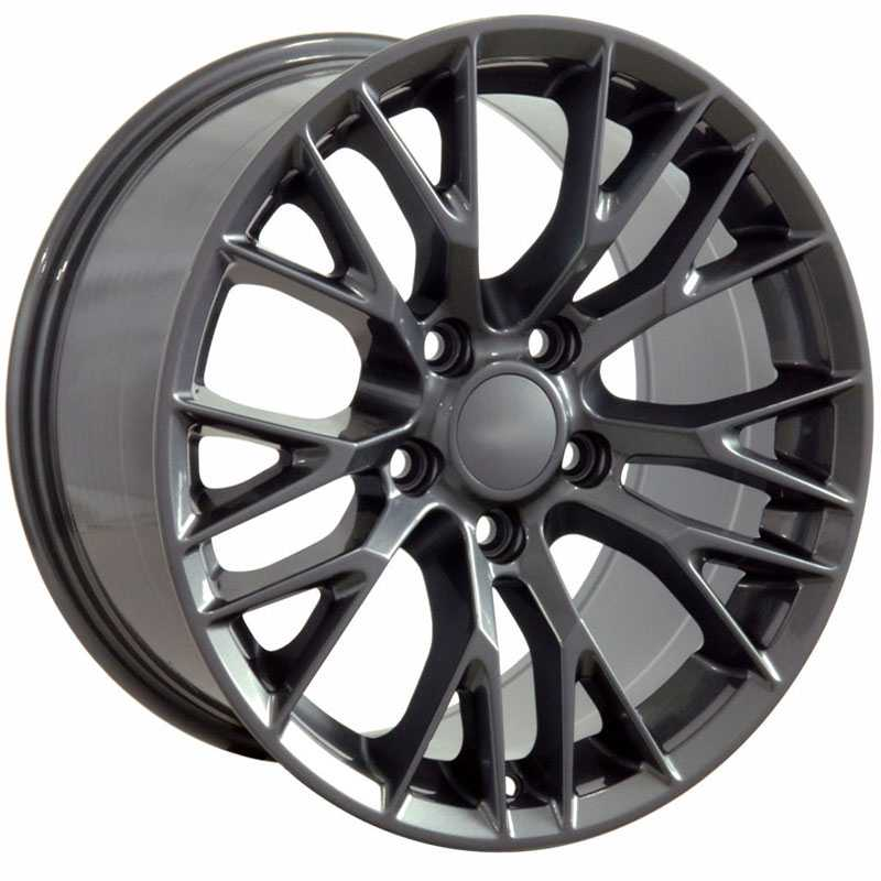Chevy CV22 C7 Z06  Wheels Gunmetal