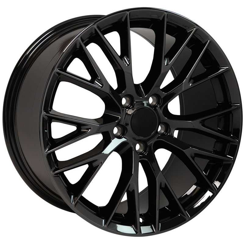Chevy CV22 C7 Z06  Rims Matte Black