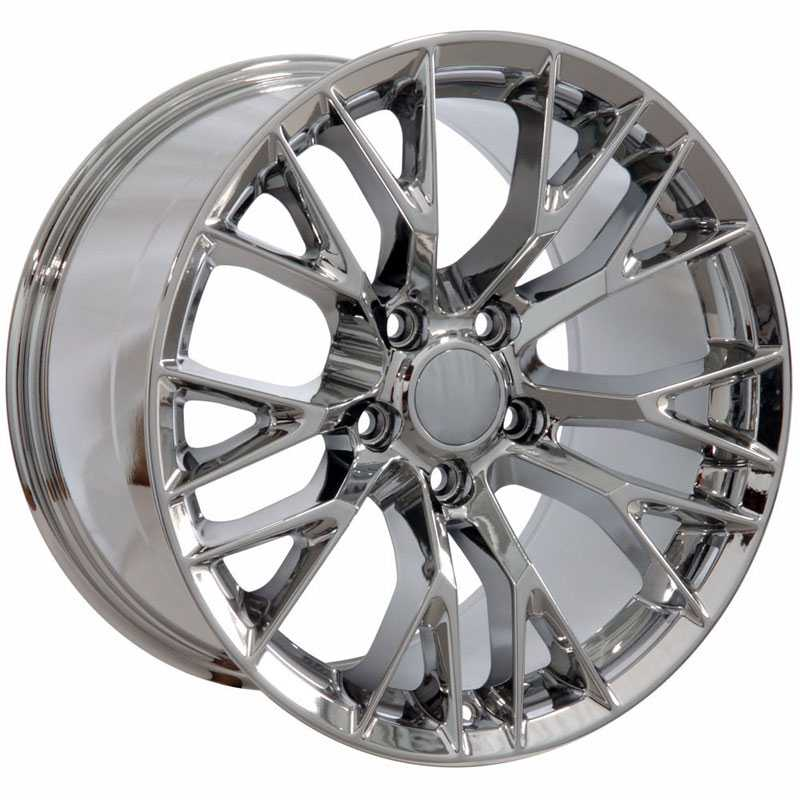Chevy CV22 C7 Z06  Wheels PVD Chrome