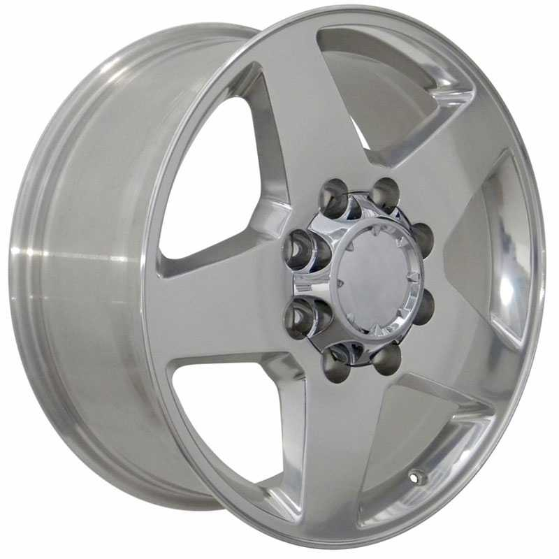 Chevy Silverado CV91  Rims Polished