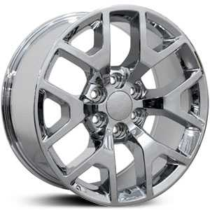 Chevy Sierra CV92  Rims Chrome