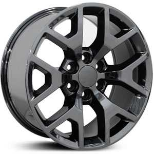 Chevy Sierra CV92  Wheels PVD Black Chrome