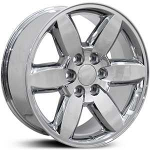Chevy Yukon CV94  Wheels Chrome