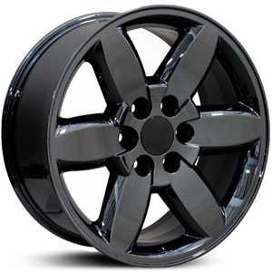 Chevy Yukon CV94  Rims PVD Black Chrome