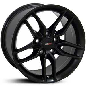 Chevy Corvette Stingray CV18  Wheels Matte Black