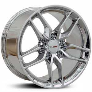 Chevy Corvette Stingray CV18  Rims PVD Chrome