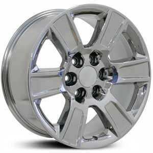 Chevy Sierra CV78  Wheels PVD Chrome