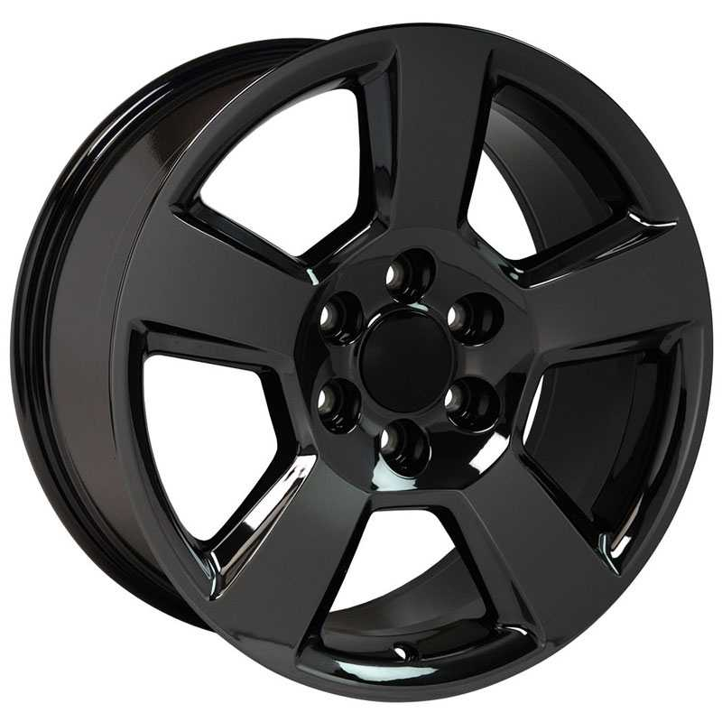 Chevy Tahoe CV76  Rims PVD Black Chrome