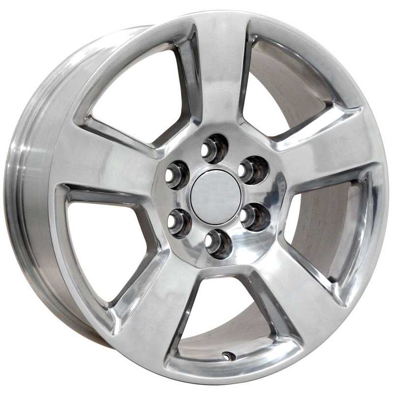 Chevy Tahoe CV76  Wheels Polished