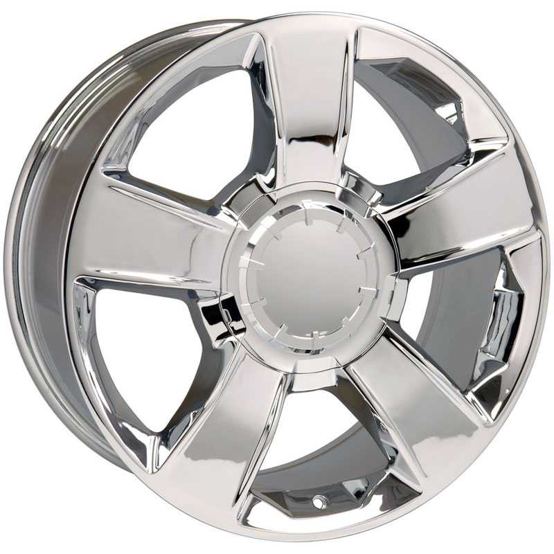 Chevy Tahoe CV79  Wheels Chrome