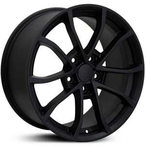 Chevy Corvette C6 Z06 CV09  Rims Matte Black